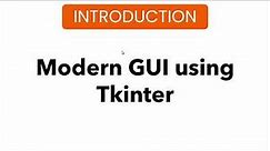 #2 Series Introduction | Tkinter Project | Modern GUI | Advanced College Management System