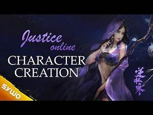 New MMORPG Justice Online | Character Customization