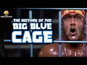 The History of WWF's Big Blue Steel Cage