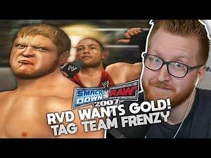 WWE SmackDown vs RAW 2007 - Raw Part 3 - RVD Wants Tag Gold!