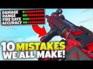 10 Mistakes that MAKE YOU DIE in MODERN WARFARE.. COD MW Gameplay