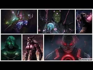 Top 40 Strongest DC x Marvel Arch~Nemesis