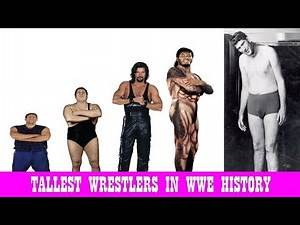 SWWE Top 13 Tallest Wrestlers In WWE History || Largest Wrestlers Ever | Sorel Toril