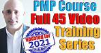 PMP Training Videos 2021   PMBOK® Guide 6th Ed.   Full PMP Certification Exam Prep Course