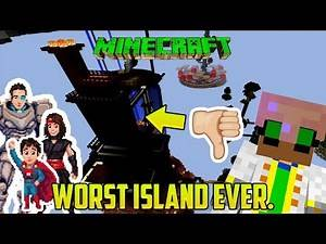 Minecraft: THE WORST ISLAND IN HISTORY! (Sky Megalith 3 mod/map!)