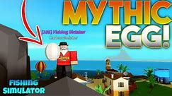 "NEW Mythic ""Baby Shark"" Egg! Fishing Simulator Roblox"