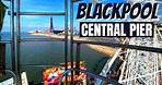 Blackpool Central Pier Vlog May 2021