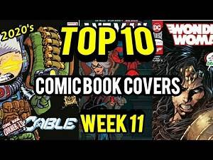 TOP 10 Comic Book Covers   Week 11