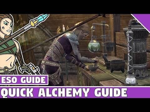 ESO Alchemy Guide - Quick Alchemy Guide for Elder Scrolls Online 2020