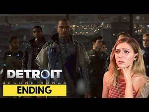 Detroit Become Human Ending & Alternate Ending | Marz Plays