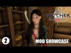 The Witcher 3 Armor dan Weapon Mod | Skyrim Mod Indonesia #2