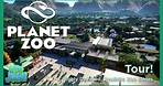 Planet Zoo - Highly Detailed Realistic Zoo  Tour 