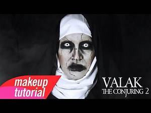 Valak From The Conjuring 2 Makeup Tutorial