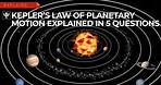 Explained In 5 Questions: Kepler's Law of Planetary Motion | Encyclopaedia Britannica