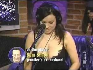 Jennifer Tilly on Howard Stern (28/10/2004)