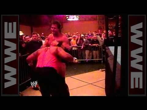WCW's Mike Awesome defends the ECW World Championship against WWE's Tazz: Hardcore TV, April 14, 200