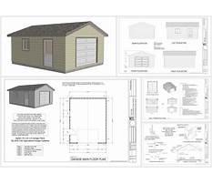 2 car garage construction plans Plan