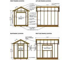 8 x 10 shed plans free Plan