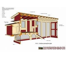 A frame chicken coop plans for bantams Plan