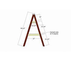 A frame swing set plans.aspx Plan