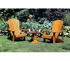 Adirondack chair plans instructables Plan