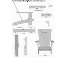 Adirondack chair plans metric version.aspx Plan