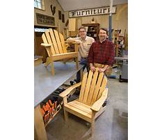 Adirondack chair plans new yankee workshop Plan
