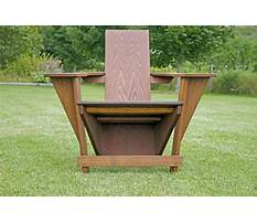 Adirondack chair templates.aspx Plan