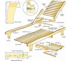 Adirondack chaise lounge plans Plan