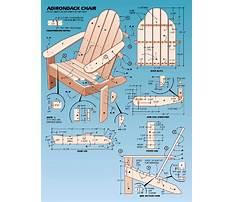 Adirondack furniture plans and templates.aspx Plan