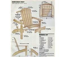 Adirondack lawn furniture plans Plan