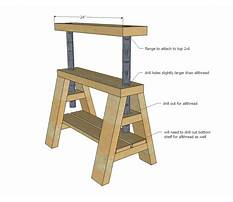 Adjustable end table plans Plan