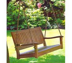 All things cedar teak porch swing Plan