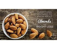 Almond nuts good for diet Plan