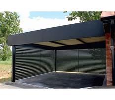 Aluminium carport design Plan