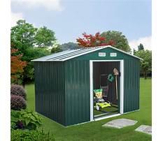 Aluminum garden shed.aspx Plan