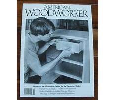 American woodworking magazine Plan