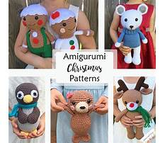 Amigurumi free christmas patterns Plan