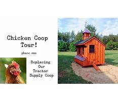 Amish chicken coop youtube Plan