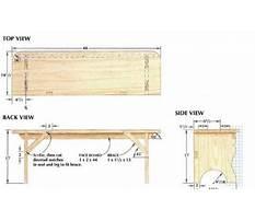 Amish workbench furniture Plan