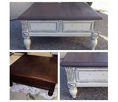 Annie sloan painted coffee tables Plan