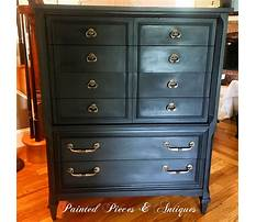 Annie sloan painted tables in graphite Plan