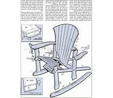 Antique bench chair Plan