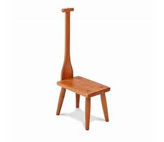 Antique bench chair with handles Plan