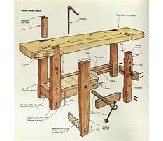 Antique carpenters workbench Plan