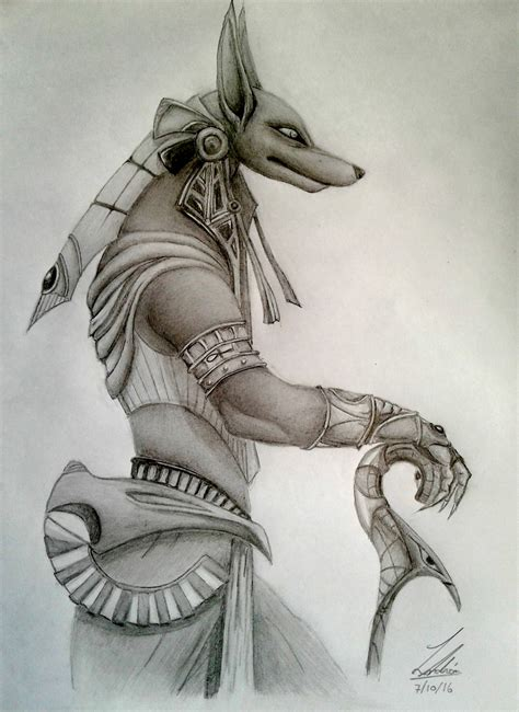 Anubis Like Sketches