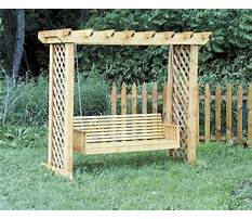 Arbor swing frame.aspx Plan