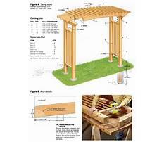 Arbors garden Plan