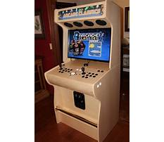 Arcade video game cabinet plans Plan