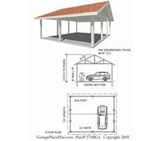 Architect carport design Plan